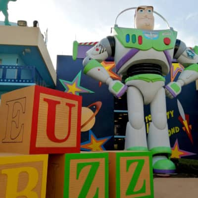 Buzz at Disney's All Star Movies Resort