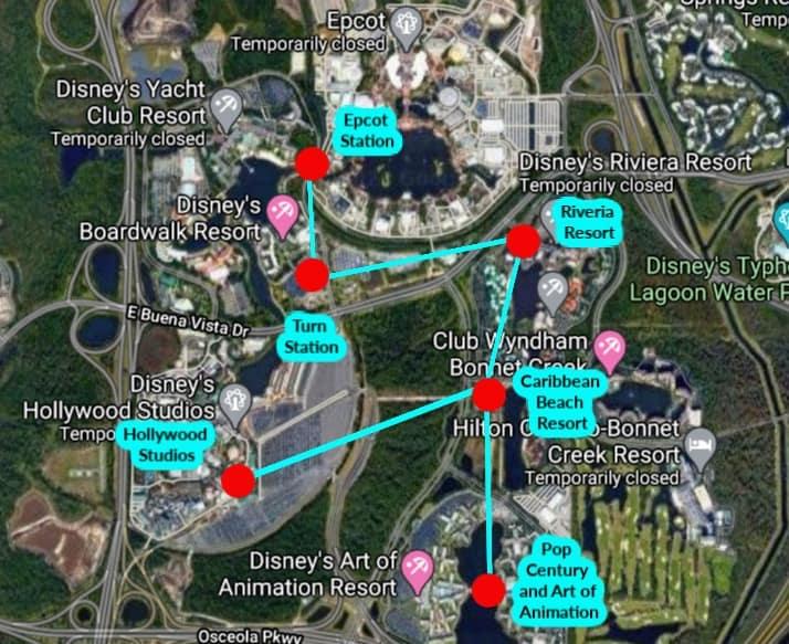 Disney Skyliner System
