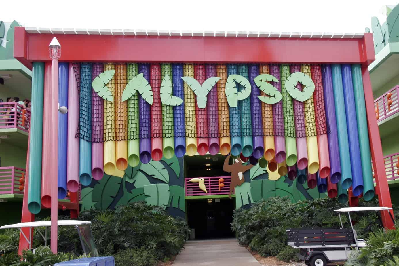 Calypso Wing at Disneys All Star Music Resort