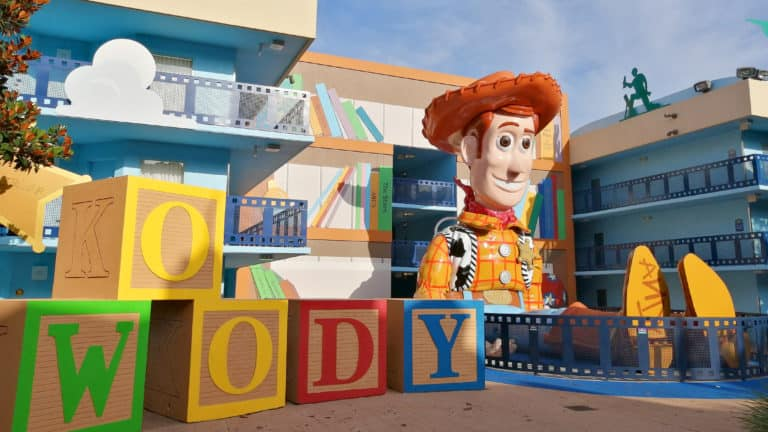 Woody at Disneys All Star Movies Resort