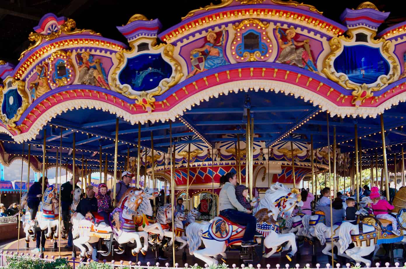 Disney World Carrousel