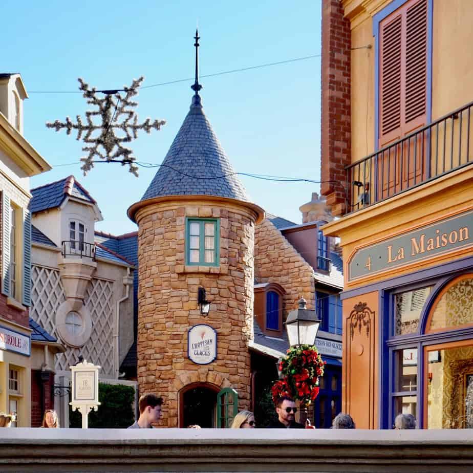 France at Disney Epcot