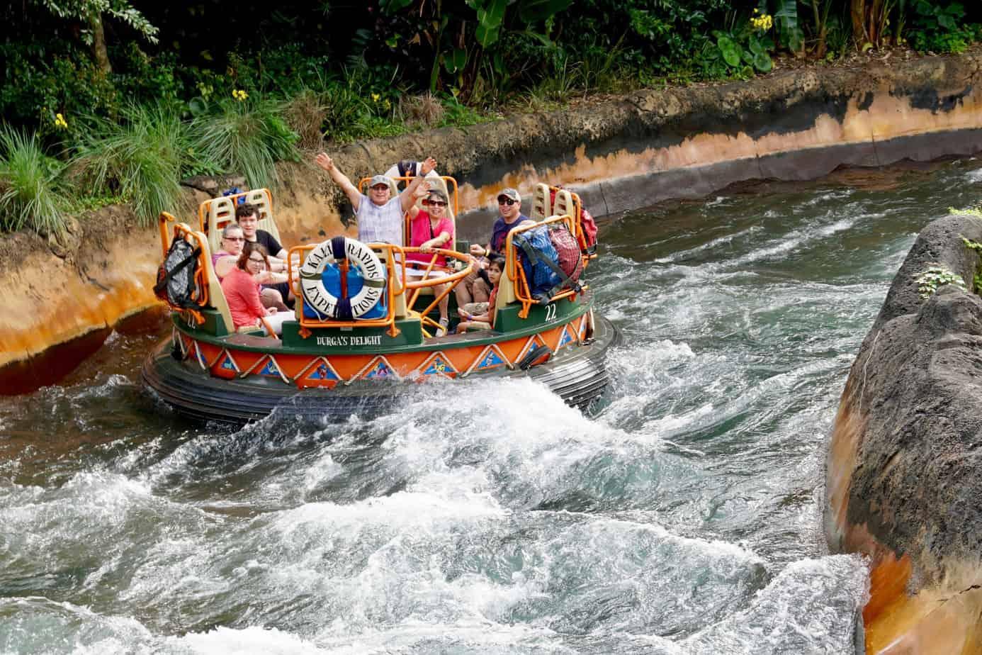 Disney World Thrill Ride - Kali River Rapids