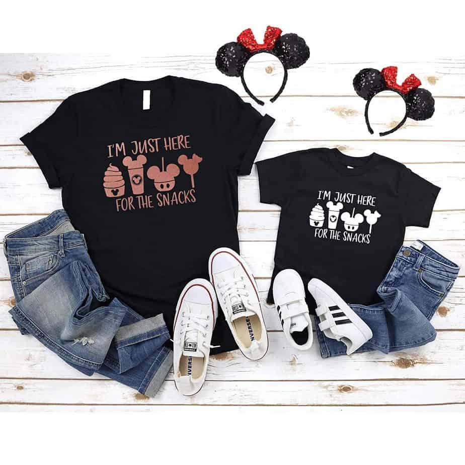 Disney snack shirt
