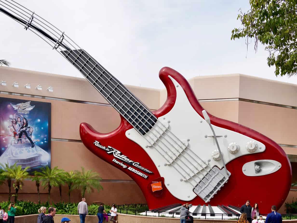 Disneys Thrill Ride Rock n Roller Coaster