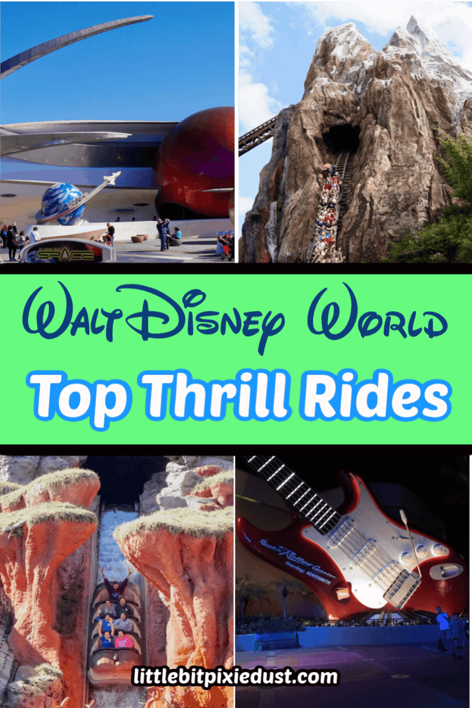 Disney World Thrill Rides