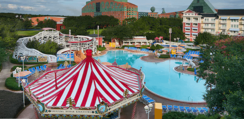 Disney's Boardwalk pool