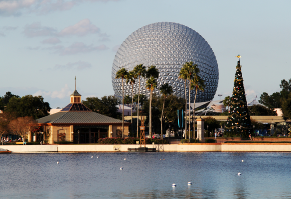 Disney Epcot Christmas