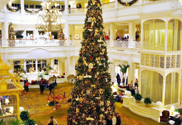 Grand Floridian Disney Christmas Tree