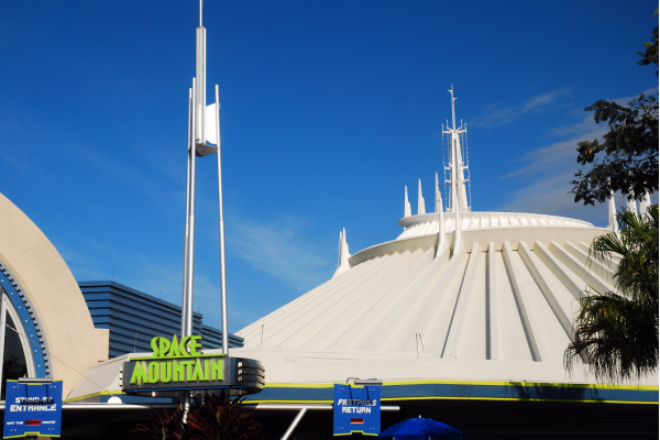 Space Mountain - Disney for adults