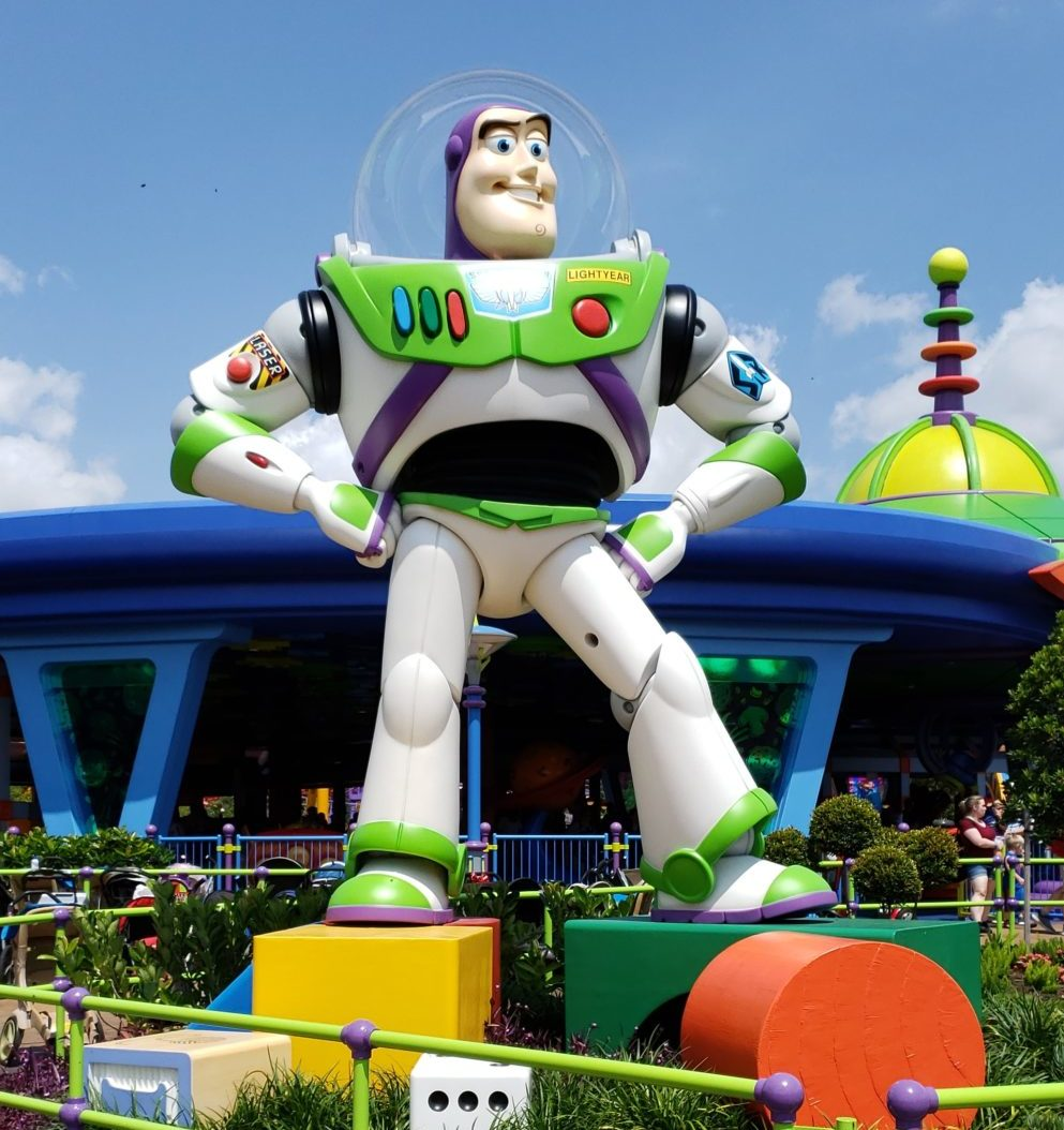 Buzz Light Year at Toy Story Land