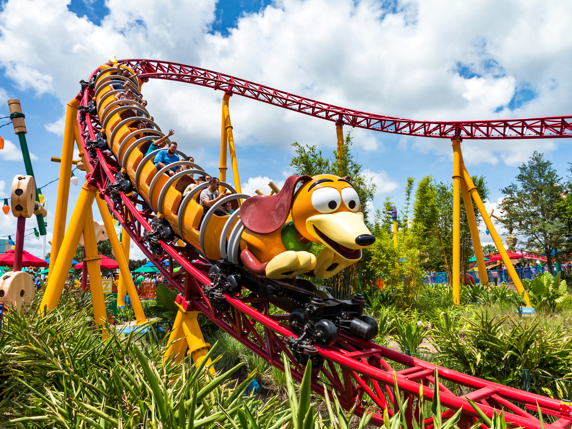 Slinky Dog Dash at Toy Story Land