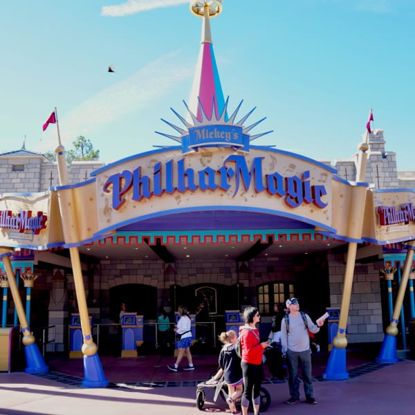 Mickey's PhilarMagic - Magic kingdom show