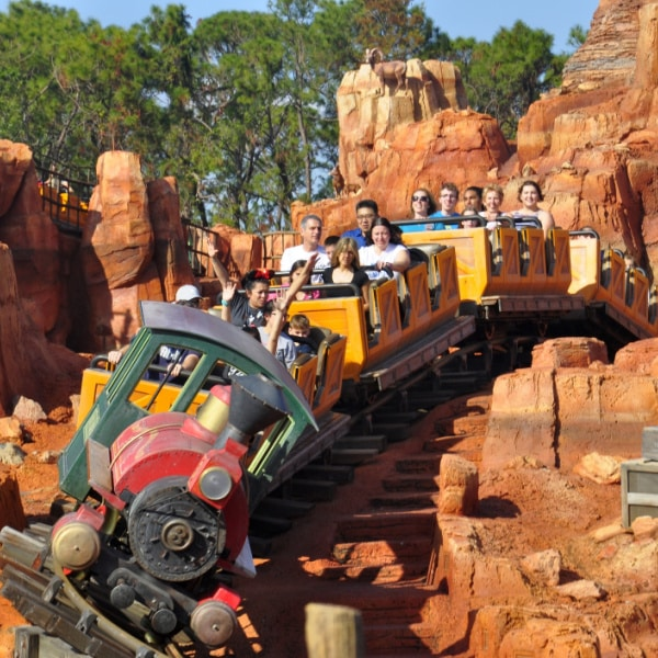 Big Thunder Mountain - Magic Kingdom attraction