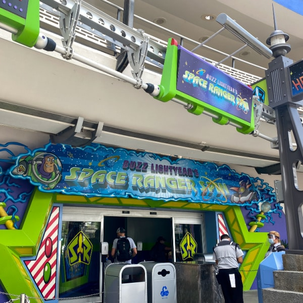 Buzz Lightyear - magic kingdom attraction