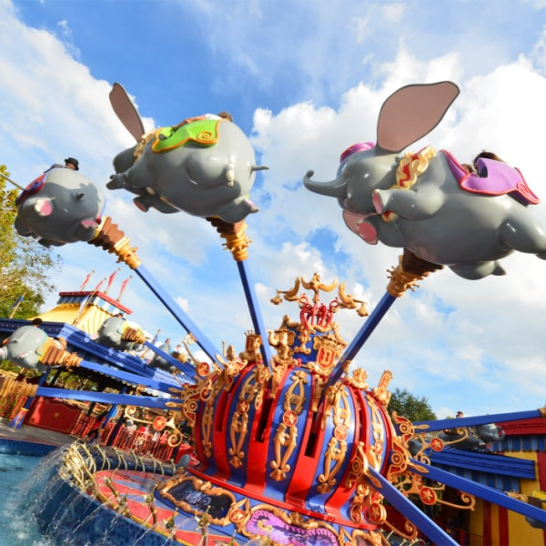 Dumbo - Magic Kingdom ride