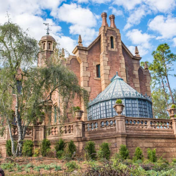 Haunted mansion - magic kingdom ride