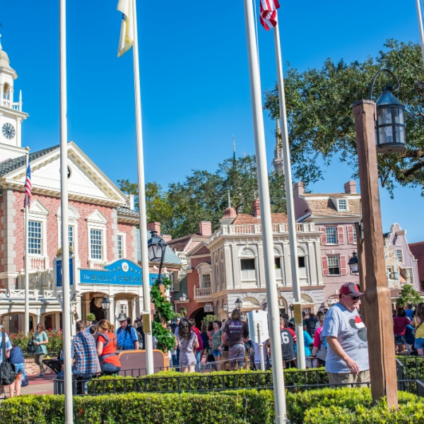 Liberty square - magic kingdom