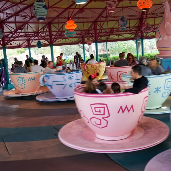 Mad Tea Cups - Magic Kingdom ride