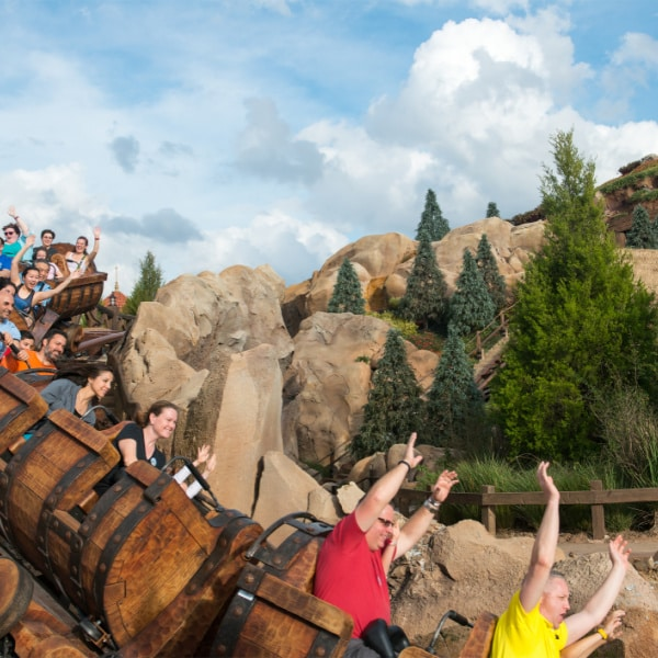 7 Dwarfs Mine Train - Magic Kingdom ride