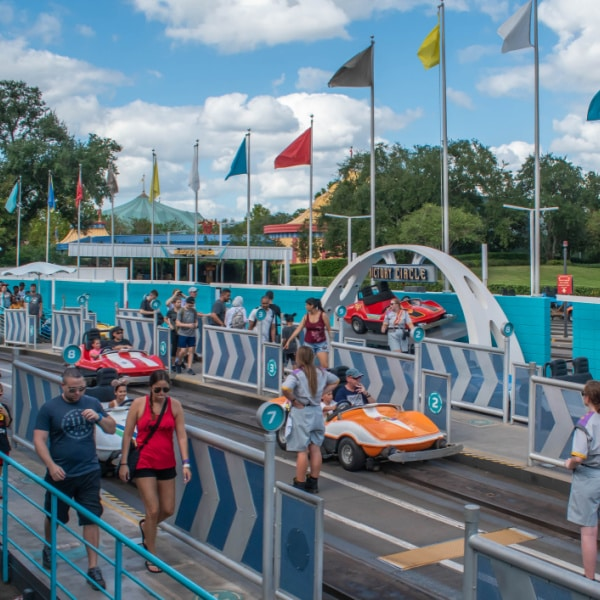 Magic Kingdom ride - tomorrowland speedway