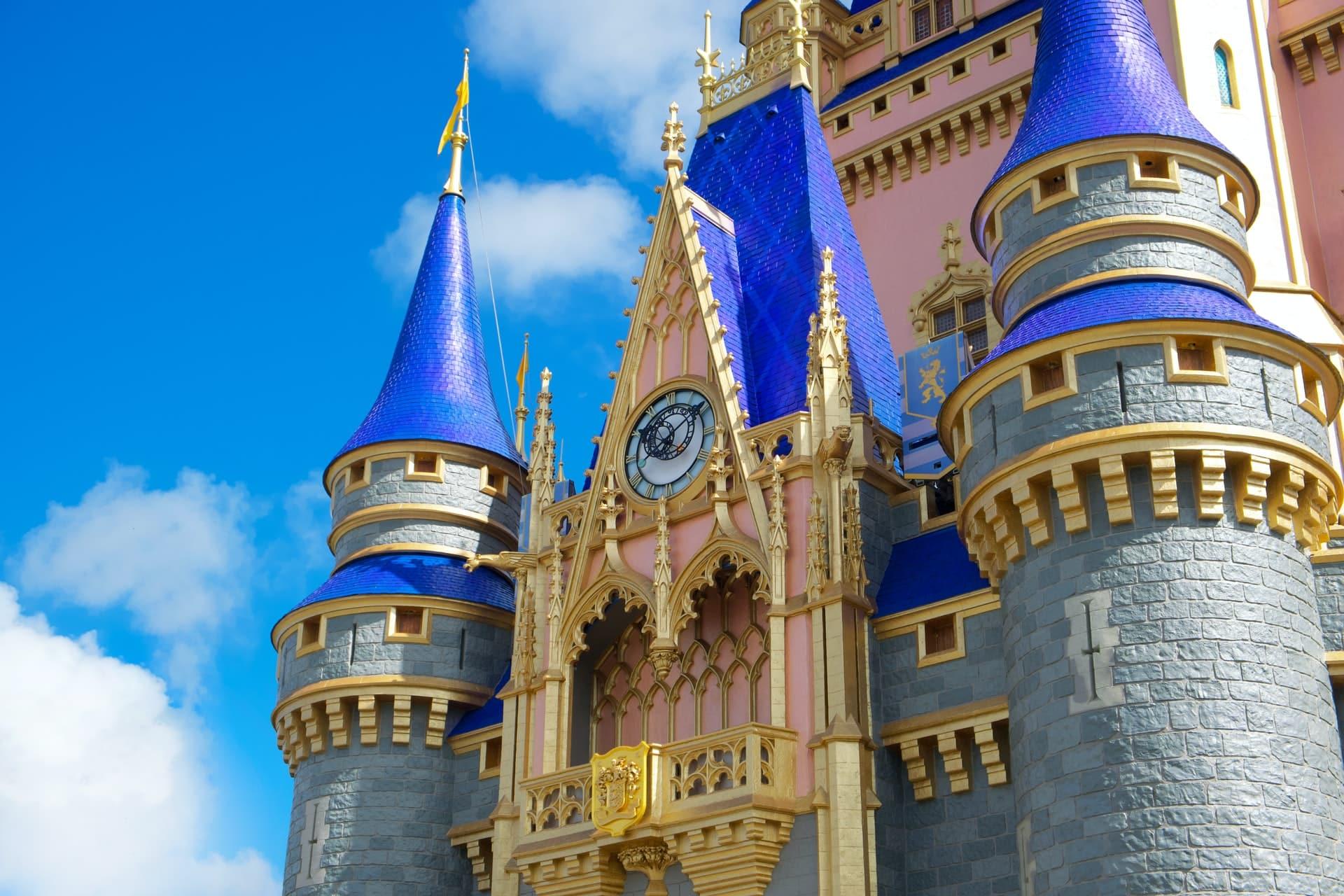 disney 50th anniversary castle