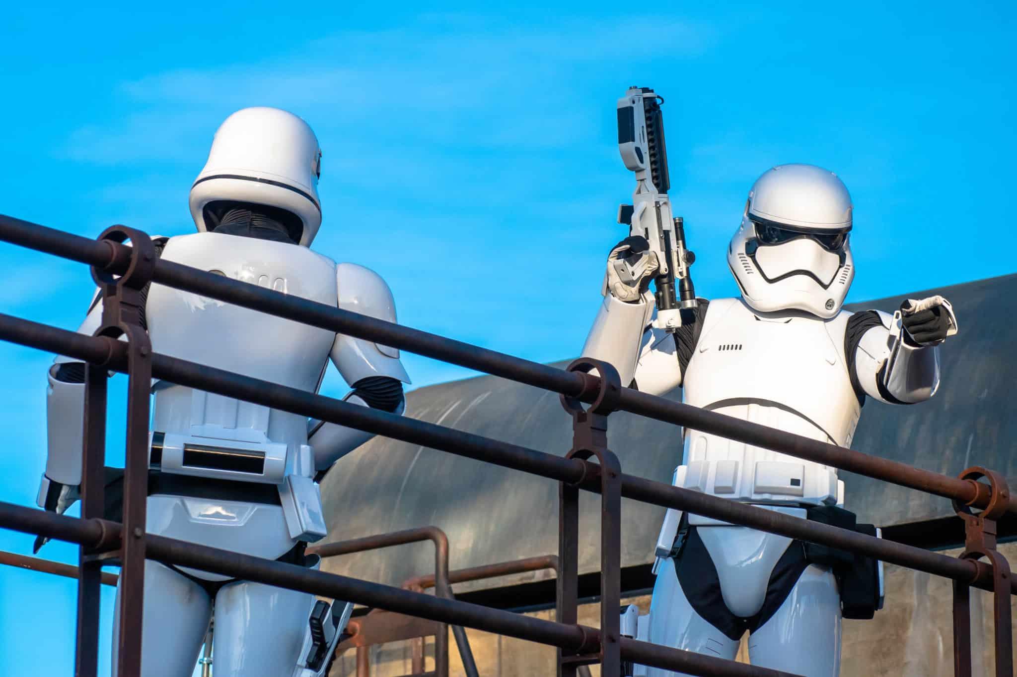 storm troopers - disney world 50th anniversary