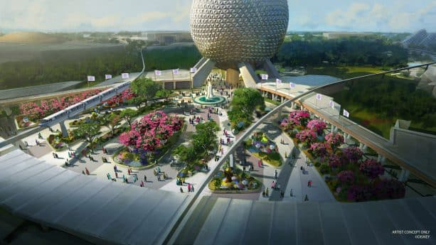 Epcot Construction Updates for 2021 and Beyond