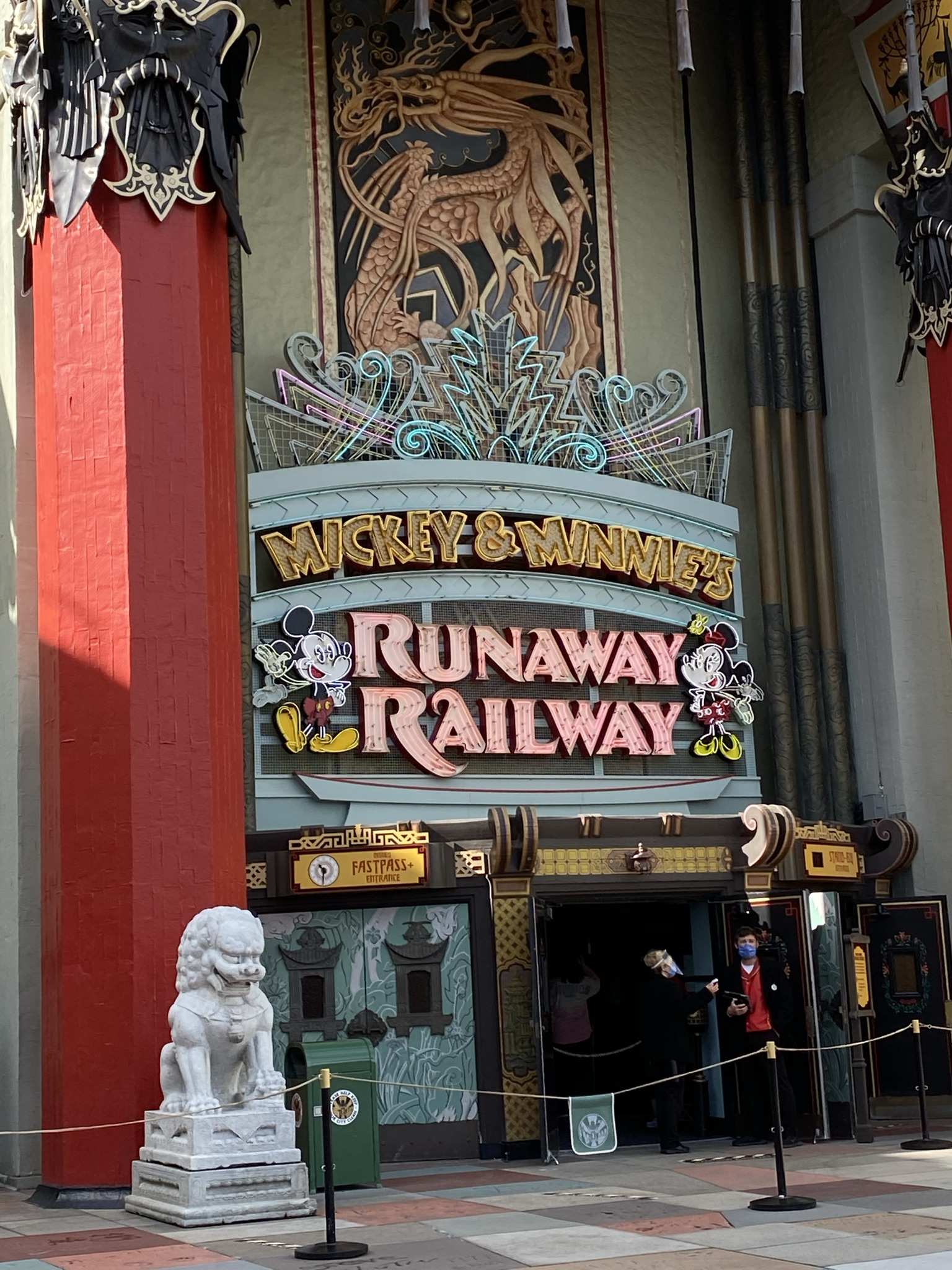 Disney's Mickey and Minnie Runaway Railway