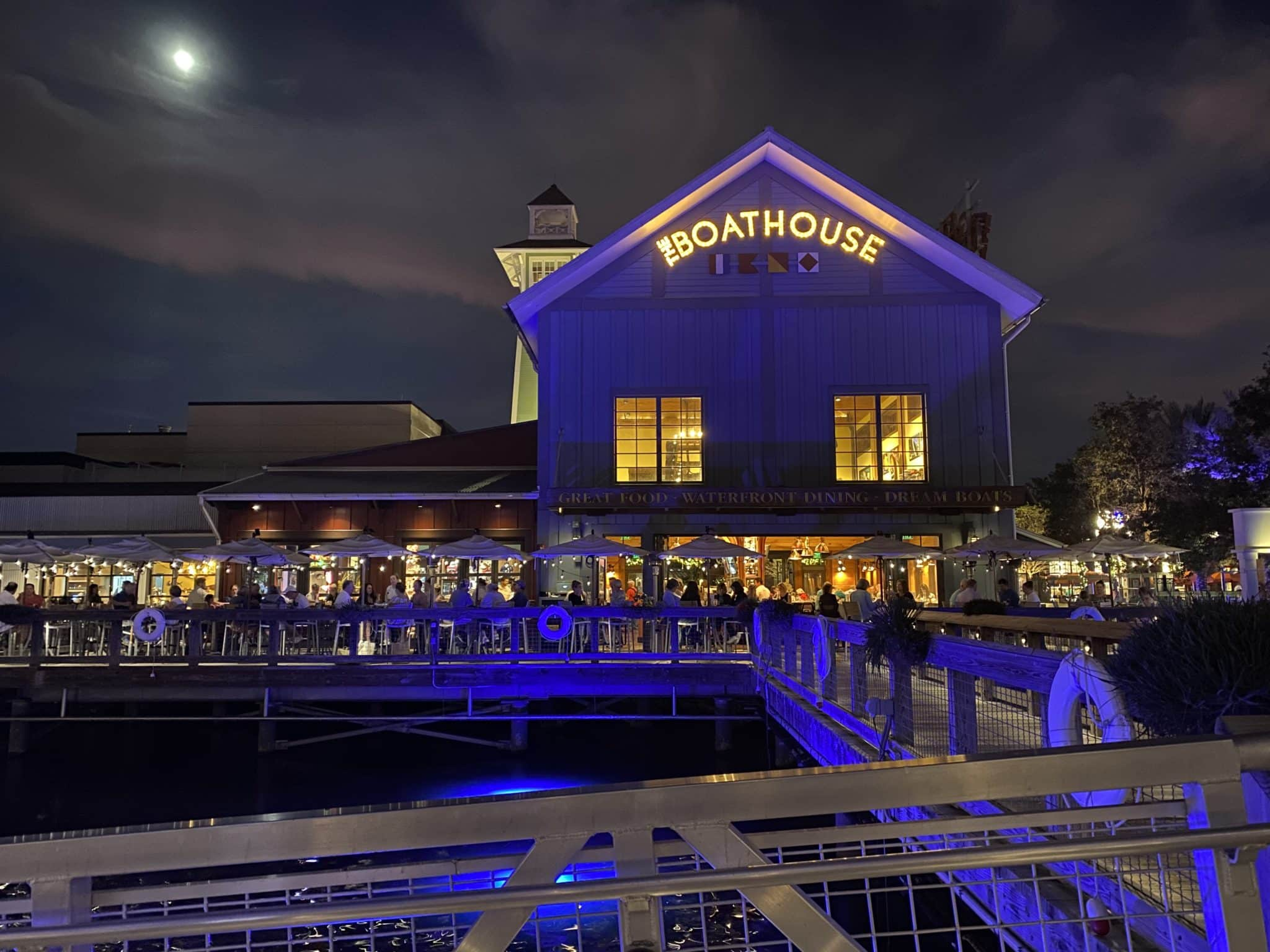 the boathouse - best disney springs restaurants