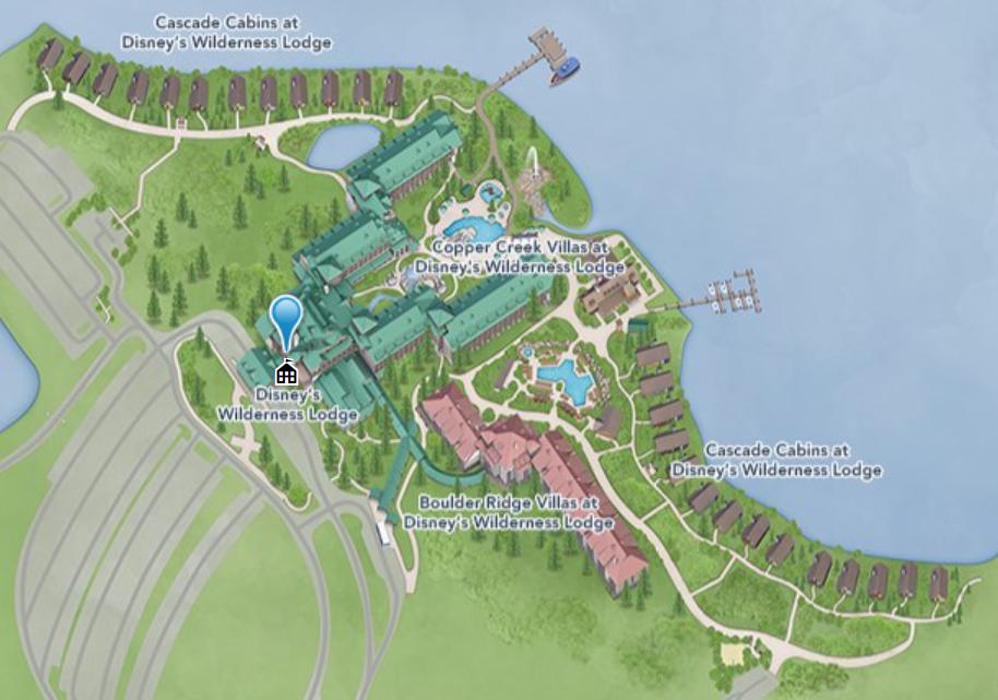 disneys wilderness lodge map