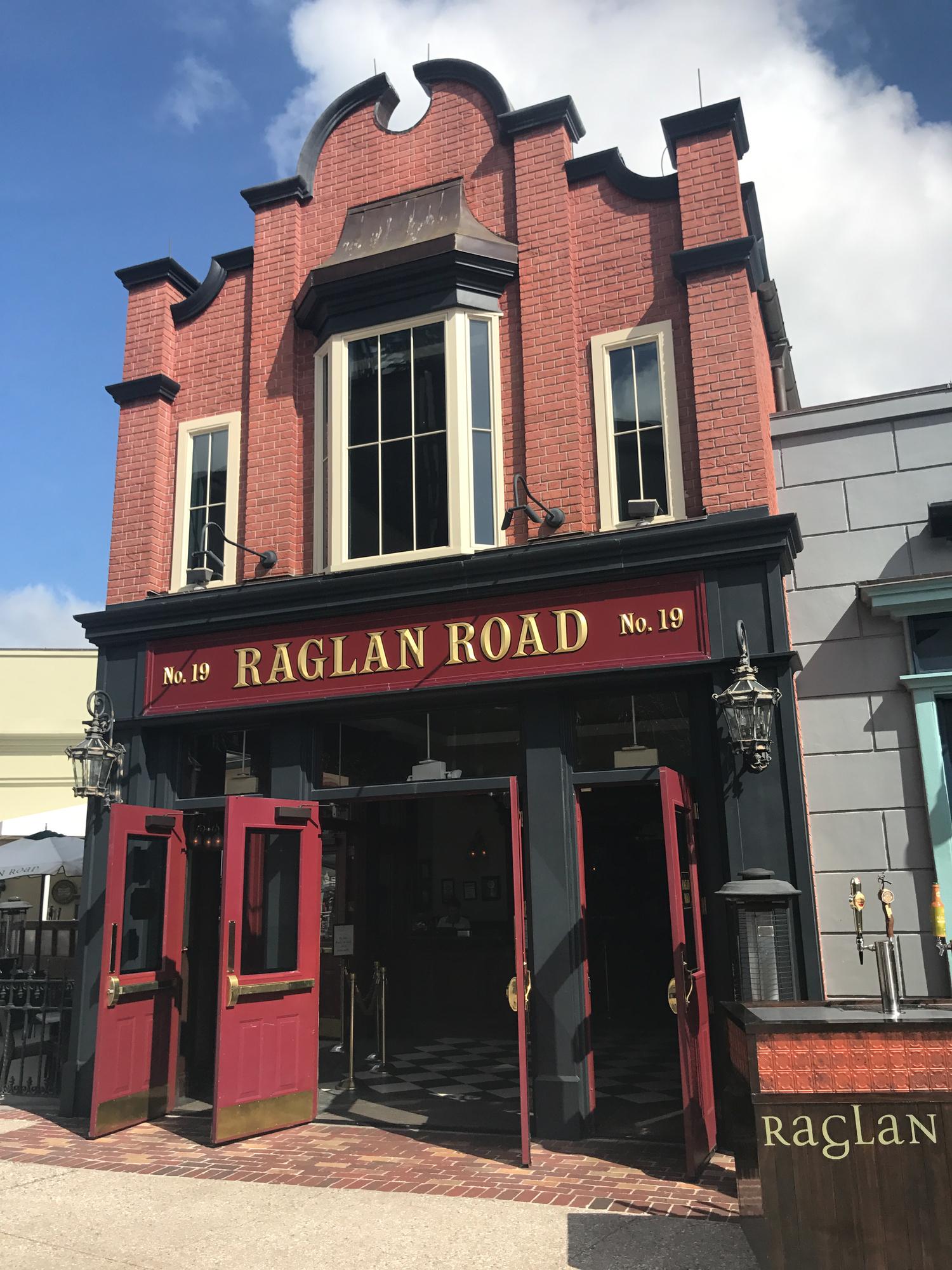 best disney springs restaurants - raglan road