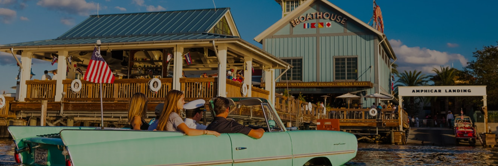 top disney springs restaurants - the boathouse