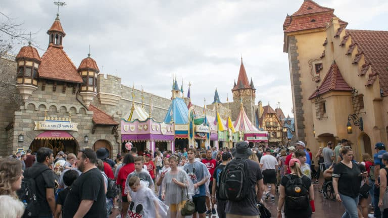 Tips for Disney World When It Rains